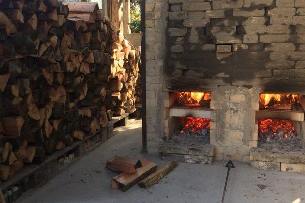 益子焼き陶芸窯火入れ‼️